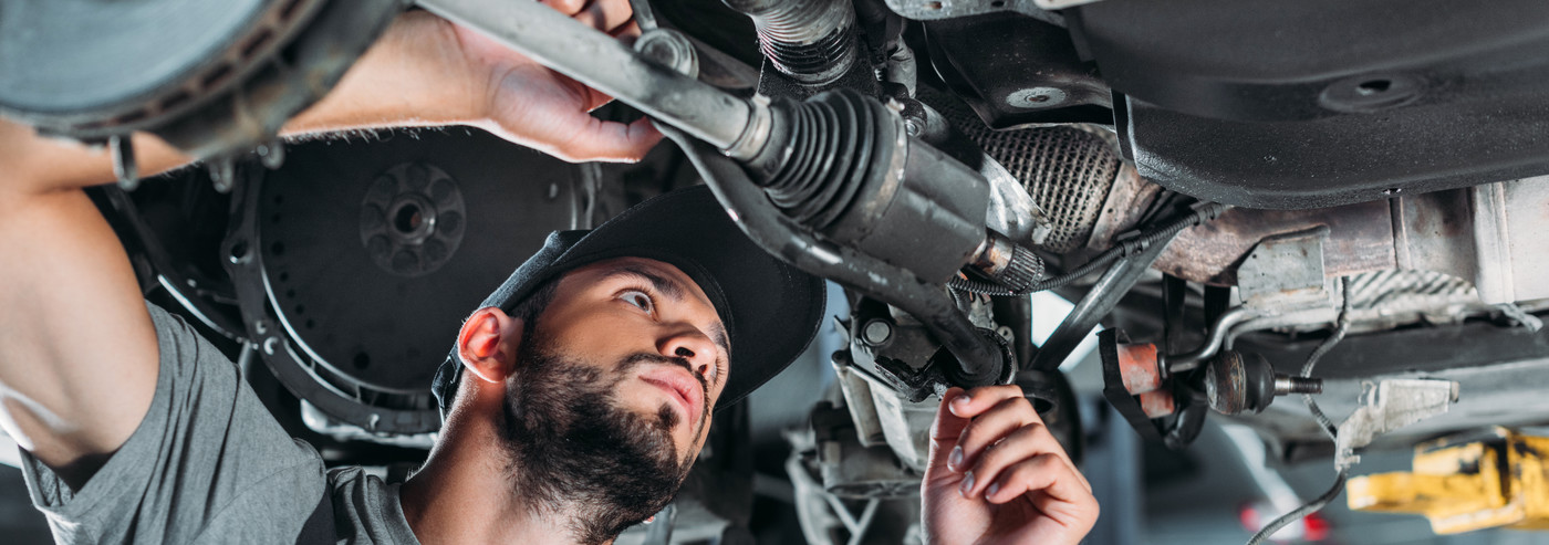 Mechanic working on a vehicle - Car Repairs Armley